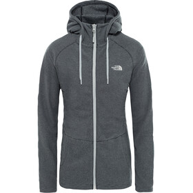 The North Face Mezzaluna Full Zip Hoodie Women TNF black stripe